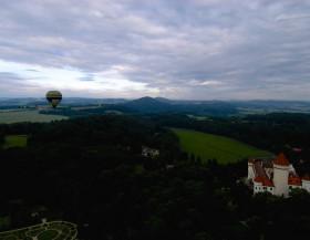 Léto plné zážitků při letu balónem