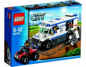 S Lego City můžeš mít vlastní policejní stanici, dokonce i vlastní náměstí