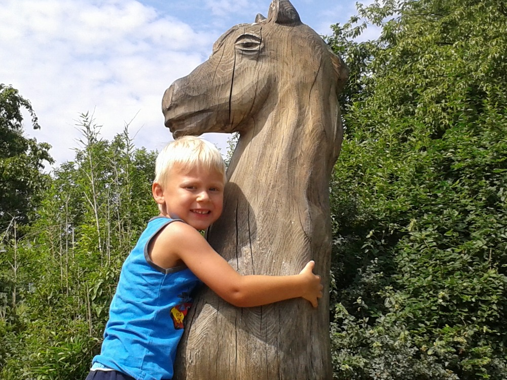 Martinek pred lecbou v Podkrusnohorskem zooparku v Chomutove